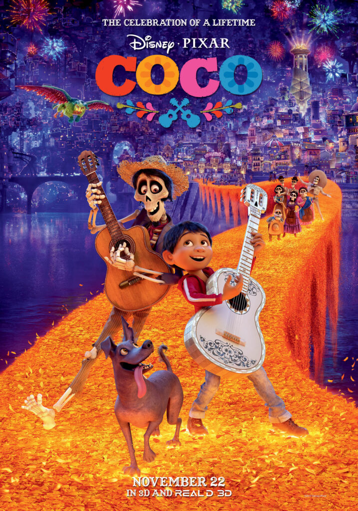 Coco (2017) The Best Animated Movies on Netflix kisscartoon-app.com